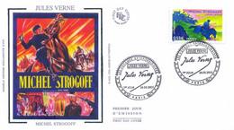 Enveloppe 1er Jour Personnages Célèbres 2005, Jules Verne, Michel Strogoff, 2005 (YT 3792) - 2000-2009