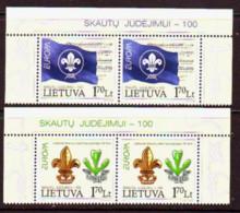 2007. Lithuania. Europa. MNH. Mi. Nr. 933-34. - Lithuania