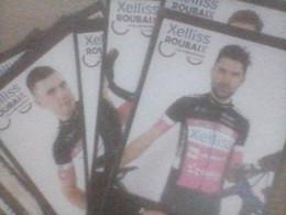 CYCLISME 2021  - WIELRENNEN- : JEU COMPLET TEAM XELISS ROUBAIX 2021 (série Officielle) - Cycling