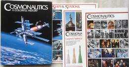 Cosmonautics, A Colorful History + 3 Posters - Dr. Wayne - R. Matson - 1994 - Space Program - USSR - Soviet Russian - Sonstige