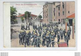 Salut De Constantinople- Pompiers Réguliers Commandés Par Cezeny Pacha - Turkey