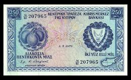 # # # Banknote Zypern (Cyprus) 250 Mils 1978 # # # - Cyprus