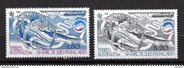 TAAF 1985: N°113/114**  Cétacés Et Kril - Neufs