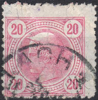 AUSTRIA - 1901, Used, With Brill Lines, Avec Lignes Brill - Gebraucht
