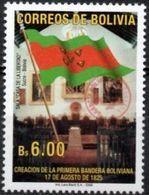Bolivia 2018 ** CEFIBOL 2360 (2006 #1891) Primera Bandera Boliviana Habilitado Agencia Boliviana De Correos. - Bolivia