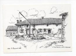 La  Gacherie ,  Commune  De Nouic       -  Illustration  Par  R  Bayard   - Maisons  Paysannes  De  France - Andere Gemeenten