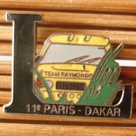 Joli Pin's Rallye 11è Paris Dakar, émail Grand Feu, TBQ, Pins Pin. - Rallye