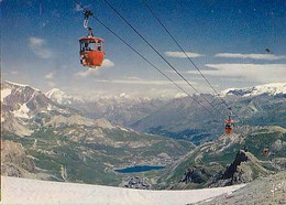 Savoie        H424        TIGNES.La Station Et Le Lac Vu De La Grande Motte ............. - Other Municipalities