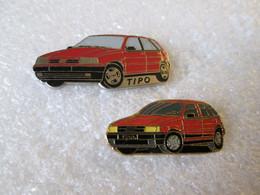 PIN'S  LOT 2    FIAT  TIPO - Fiat