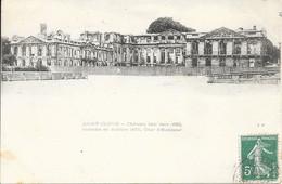 92 Saint-Cloud - Château Bâti Vers 1650, Incendié En Octobre 1870, Cour D'honneur 190x TB - Saint Cloud