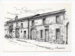 Brillon  En  Barrois     -  Illustration  Par  R  Bayard   - Maisons  Paysannes  De  France - Bar Le Duc
