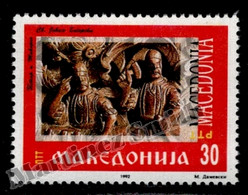 Macedoine - Macedonia 1992 Yvert 1, 1st Ann. Sovereignty Proclamation - MNH - Macedonië