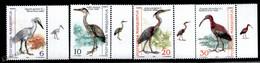 Macedoine - Macedonia 2000 Yvert 202-05, Fauna, Birds, With Tabs - MNH - Macedonië