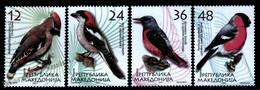 Macedoine - Macedonia 2004 Yvert 320-23, Fauna, Birds - MNH - Macédoine