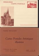 Entier Neuf La Conciergerie 90c Rouge RF CP Brun 10 Paris Sainte Chapelle Storch F2e + Emballage Cote 35 Euros - Cartes Postales Types Et TSC (avant 1995)