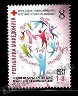 Macédoine - Macedonia 2012 Charity Yvert 133, Fight Against Breast Cancer Week - Bienfaisance - MNH - Macedonia