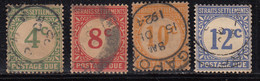 4v Straits Settlements 1924 Used, Postage Due, Malaya / Malaysia - Straits Settlements