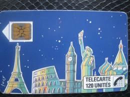 Télécarte Françaises Publiques - 1989