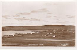 GB Postcard Scotland Shetlands Baltasound, Mavis Grind And Door Holm - Shetland
