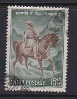 India: 1961   Chatrapati Shivaji Commemoration   Used - Used Stamps