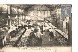 LORIENT -La Poissonnerie A L Heure De La CRIEE - Lorient
