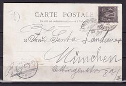 D 146 / SAGE N° 89 SUR CARTE POSTALE - 1876-1898 Sage (Type II)