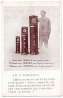 Cpa Doseur D'air Simplex Duplex Triplex établissements Izart à Sannois - Advertising