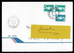 976 MAYOTTE Lettre Au Tarif 2è échelon Marianne Surchargée MAMOUDZOU-KAWENI 14-5-1997 - Non Classés