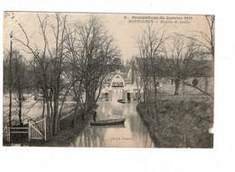 91 MONTGERON, Moulin De Senlis, Inondations De Janvier 1910. ( VOIR SCAN ). - Montgeron
