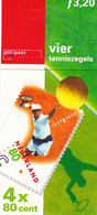 Netherlands Pays Bas 1999 Automaatboekje Tennis 100 Jaar KNLTB NVPH PB 52  MNH ** - Booklets