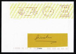 976 MAYOTTE Lettre Affr. ETIQUETTE  GSMA 98080 Combani Au Tarif 0,56€ COMBANI 21.1.09 + Dos  TTB/SUP - Non Classés