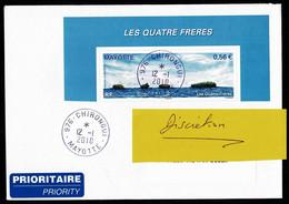 976 MAYOTTE Lettre Au Tarif 0,56€ Du Bloc Les Quatre Frères  CHIRONGUI 12-1-2010 - Non Classés