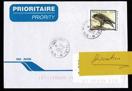 976 MAYOTTE Lettre Au Tarif 0,56€  Epervier De Mayotte Seul  MTZAMBORO  25-6-2010 - Non Classés