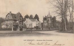 UR 9-(78) LE VESINET - AVENUE DES COURSES  - 2 SCANS - Le Vésinet