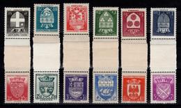 2eme Serie Des Armoiries N** Complete YV 553 à 564 Cote 60 Euros - Unused Stamps