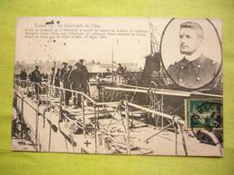 CPA Catastrophe De L'Iéna à Toulon Cuirassé D'escadre 1907 - Materiale