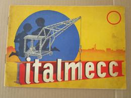 #  MANUALE ISTRUZIONI ITALMECC COSTRUZIONI ANNI '60 - Other