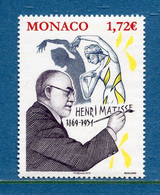 ⭐ Monaco - YT N° 3208 - Neuf Sans Charnière - 2019 ⭐ - Ungebraucht