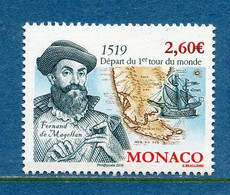 ⭐ Monaco - YT N° 3211 - Neuf Sans Charnière - 2019 ⭐ - Ungebraucht