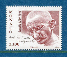 ⭐ Monaco - YT N° 3212 - Neuf Sans Charnière - 2019 ⭐ - Ungebraucht
