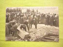 CPA Catastrophe De L'Iéna  1907 Mise En Terre Des Victimes Carré Du Souvenir Français Cimetière De Lagoubran - Cimiteri Militari