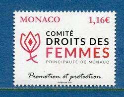 ⭐ Monaco - YT N° 3214 - Neuf Sans Charnière - 2020 ⭐ - Ungebraucht