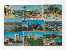 Lesotho. Maseru. Carte Mosaïque - Lesotho
