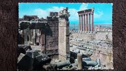 CPSM BAALBECK LIBAN TEMPLE DE BACCHUS ET LES SIX COLONNES DE JUPITER ED GULBENK G PICOT 259 AUTRE MODELE - Libanon
