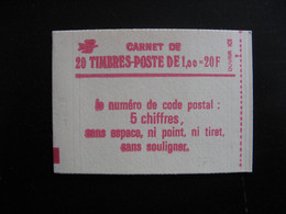 TB Carnet 1972 - C3, Neuf XX. - Standaardgebruik