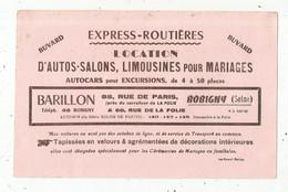 BUVARD , Express-routières ,location D'autos-salon ,limousines Pour Mariages, Barillon, BOBIGNY ,Seine - Other