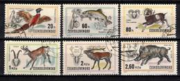 Tchécoslovaquie 1971 Mi 2014-9 (Yv 1858-63), Obliteré, - Used Stamps