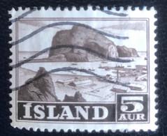 Iceland - L1/14 - (°)used - 1954 - Michel 296 - Landschappen - Gebraucht