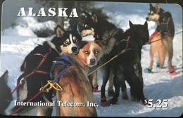 ALASKA  - Chiens De Traineau  -  $5,25 - [2] Chip Cards