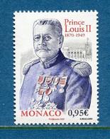 ⭐ Monaco - YT N° 3233 - Neuf Sans Charnière - 2020 ⭐ - Ungebraucht